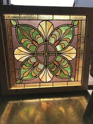 SG 2394 two available price each Celtic Stainglass window 29.25 x 31.75