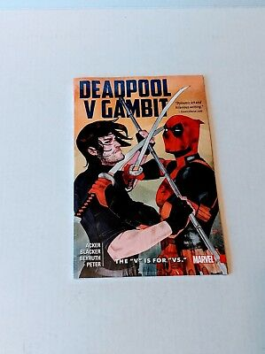 Deadpool v Gambit vs Collects #1 2 3 4 5 Marvel TPB Trade Paperback Brand New