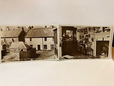 Real Phothraph Postcards J.M Barrie Birthplace And Theatre 1930s
