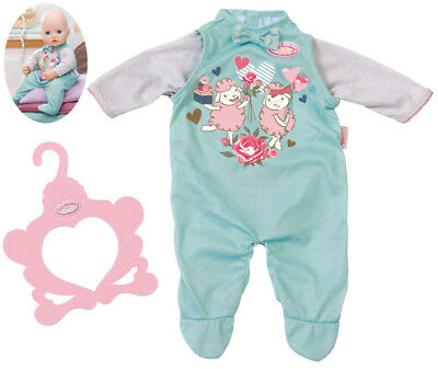 Zapf Creation Baby Annabell Strampler 40 - 46 cm (Mint)