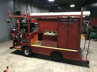 Taylor Dunn Cart Fire support Truck