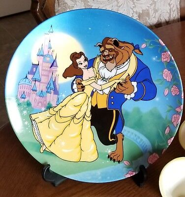 Beauty and the Beast Collector Plate