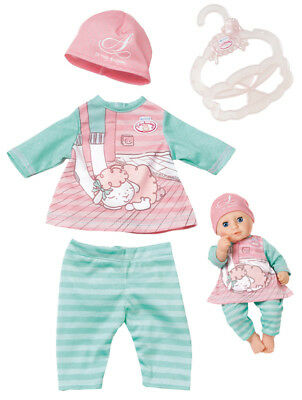 Zapf Creation My First Baby Annabell Baby Outfit 30 - 36 cm (Rosa-Mint)