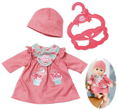 Zapf Creation My First Baby Annabell Kuschel Outfit Kleid 30 - 36 cm (Altrosa)