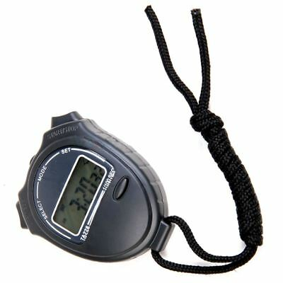 Stopwatch Stop Watch LCD Digital Chronograph Timer Counter Sports I9Z5
