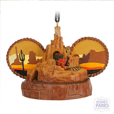 Disney Parks Big Thunder Mountain Railroad Ear Hat Ornament