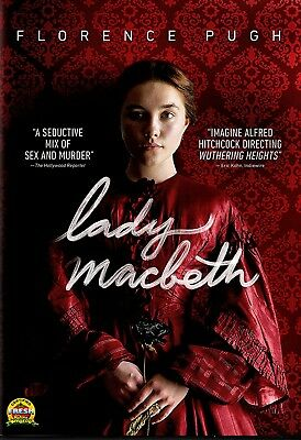 NEW DVD  - LADY MACBETH - Florence Pugh, Cosmo Jarvis, Paul Hilton, Naomi Ackie,
