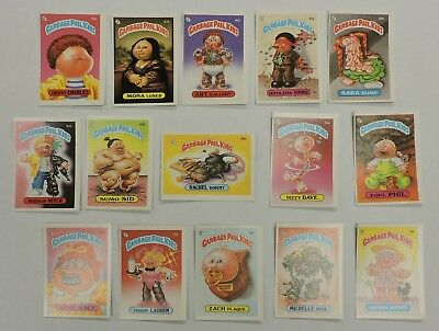 1985 Series 2 Garbage Pail Kid Cards - Lot Of 15
