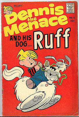Dennis the Menace and his dog Ruff #1