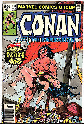 Conan The Barbarian #100 Death Of Belit First Print 1979