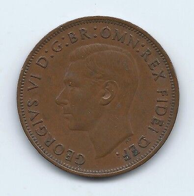 Great Britain 1950 Large Penny- Key Date- No Reserve