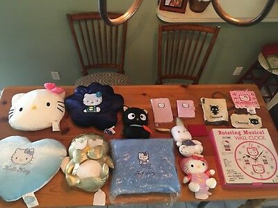 LOOK hello kitty vintage lot new condition collector items