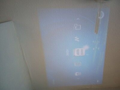 Projector And Screen With Faults