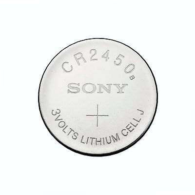 1 x Super Fresh New Sony CR2450 ECR 2450 3v LITHIUM Coin Cell Battery Exp. 2028