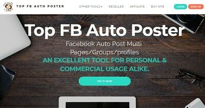 FB AUTO POSTER website for sale Work from home Make money online