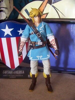 custom legend of zelda breath of the wild link figure