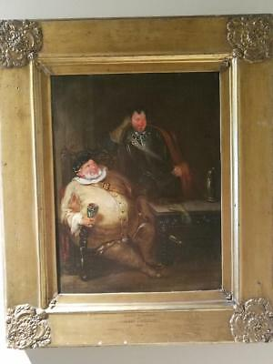 British/Scottish Henry Liverseege (1803-1832) , Falstaff and Bardolph