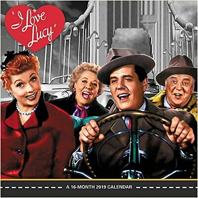 I Love Lucy - 2019 Wall Calendar - Brand New - Hth270