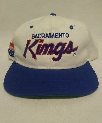 Vintage Sports Specialties Script Sacramento Kings Snapback Hat The Twill Rare