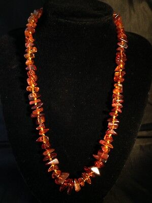 Beautiful Authentic Baltic Amber Graduated Necklace
