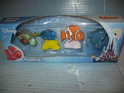 Set of 4 Disney's Pixar Finding Nemo Figurines NIP