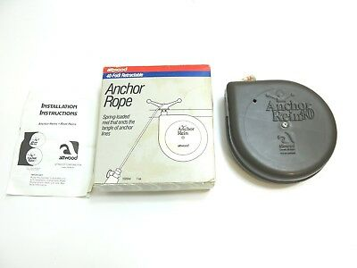 New Anchor Rein 40 By Attwood 40 Foot Retractable Anchor Rope With Box 1025A4
