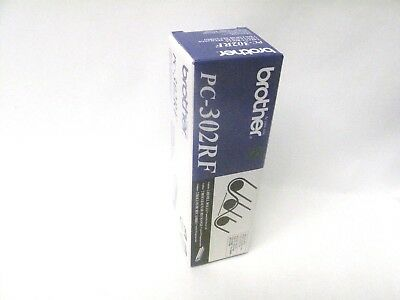Brother Genuine Pc302Rf 2 Rolls Per Pack Refill Sealed New Oem
