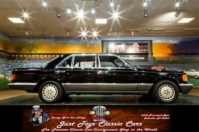 500-Series SEL sedan Mercedes-Benz 560 Black with 185,886 Miles, for sale!