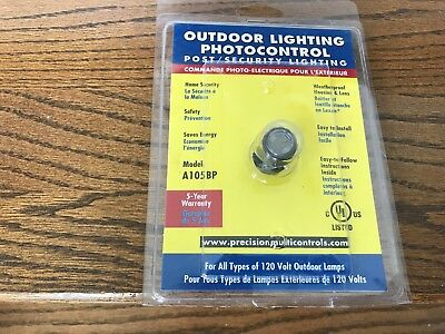 Photocontrol For Outdoor Lighting Model A-105 1000Va 120Volts Ac