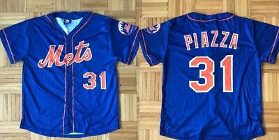 sneakers for cheap 2837d 3aa45 NEW YORK MET Mike Piazza Replica Jersey Giveaway Size XL ...