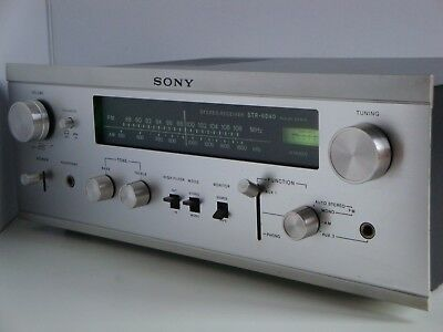 RARE AMPLI-TUNER SONY Stereo-receiver STR-6040 Made in Japan VINTAGE 1969