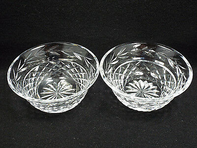 Waterford Crystal Glandore Set of 2 Flared Nut Dishes, 5 1/4""