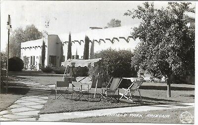 Vintage RPPC  The Wigwam   Litchfield Park, Arizona  1938