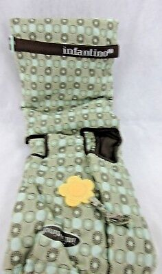 Infantino Shopping Cart - High Chair Cover New Compact Teal & Brown