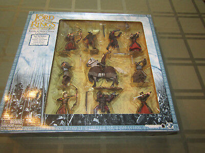 Lord Of The Rings Battle at Helm's Deep Collection Armies of Middle Earth New