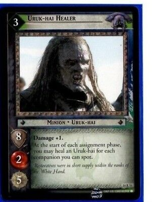 LOTR Lord Of The Rings EME Expanded Middle Earth 14R14 URUK-HAI HEALER TCG