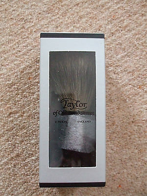 Taylor Of Old Bond Street-Pure Badger Shaving Brush-Black / Large-Free Rec Post