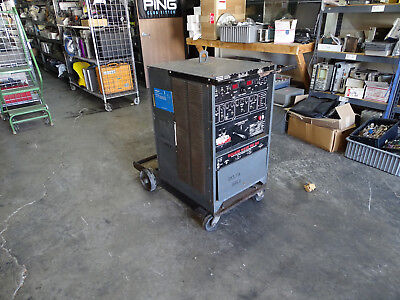 Lincoln Square Wave Tig 300 AC/DC Stick Arc Welder w/ High Freq Stabilization