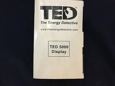The Energy Detective TED 5000 Portable Display for Home Solar Energy Monitor