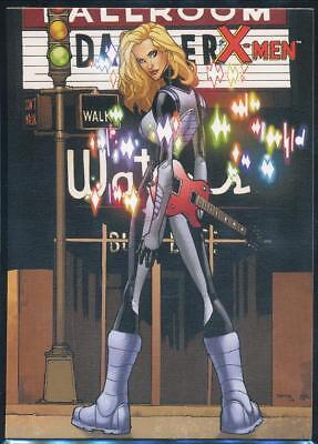 2009 X-Men Archives Trading Card #15 Dazzler