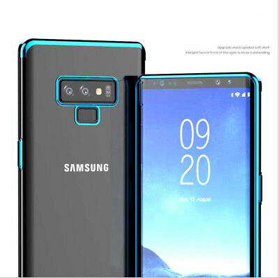 For Samsung Galaxy Note 9 Shockproof Clear Hybrid Soft Silicone Thin Case Cover