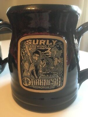 Surly Brewing Co Darkness Russian Imperial Stout Tankard Coffee Mug #133/300