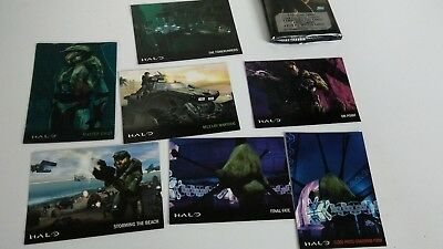Halo Trading Cards 2007 Topps (Lot of 7) Includes #1 of 5 Master Chief Flix Pix