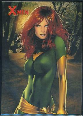 2009 X-Men Archives Trading Card #29 Jean Grey