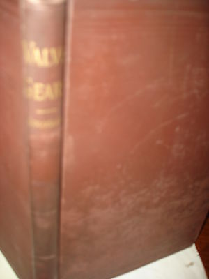 1890>VALVE GEARS ANALYSIS by the Zeuner Diagram>175 pages antique