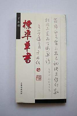 Chinese Calligrapher Yuyouren Standard Learn Write Cursive Script Technique Book