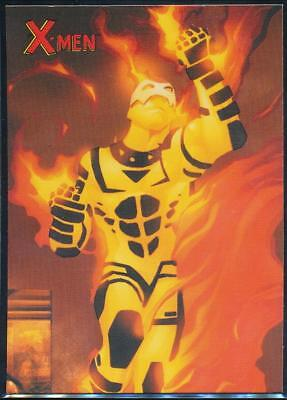2009 X-Men Archives Trading Card #63 Sunfire