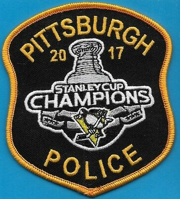 Pittsburgh Penn Pa Police Stanley Cup Champs 2017 Ppd (Fire) Hockey