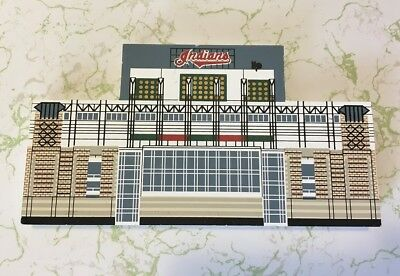 Cat's Meow Village MLB Jacobs Field Ballpark Cleveland Indians Baseball Ohio