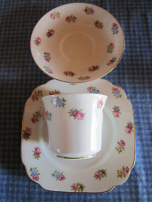 Crown China England  Trio Set ********** Must See **************